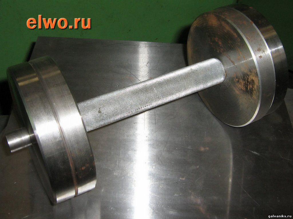 Как сделать гантели из металла